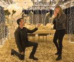 Hace romántica propuesta