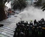 Registran enfrentamientos durante marcha a favor del aborto en CDMX