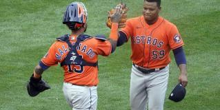 Astros de Houston derrotan 4-1 a Mellizos de Minnesota en su Juego 1 de playoffs.