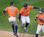 Astros se imponen a Mellizos en Juego 1 de Playoffs