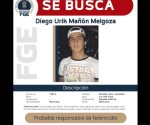Por Diego, presunto asesino de Jessica, ofrecen recompensa de un millón de pesos