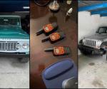Aseguran 17 vehículos de lujo en Matamoros