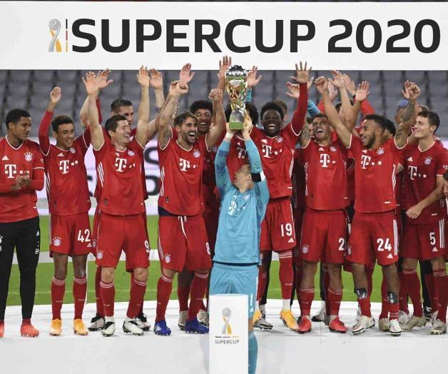Bayern supera a Dortmund y conquista la Supercopa