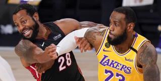Lakers se vuelven a poner con 2 juegos de ventaja en la serie ante el Heat