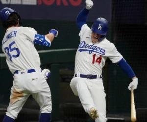 MLB | L.A. Dodgers superan a los Bravos de Atlanta y acceden a la Serie Mundial.